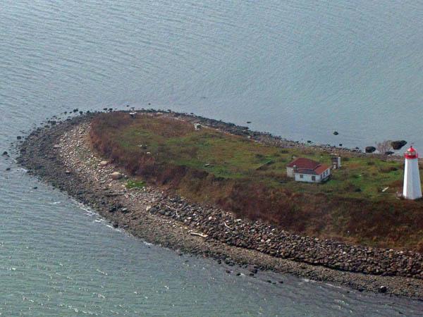 USCG Faulkners Island Aerial 6