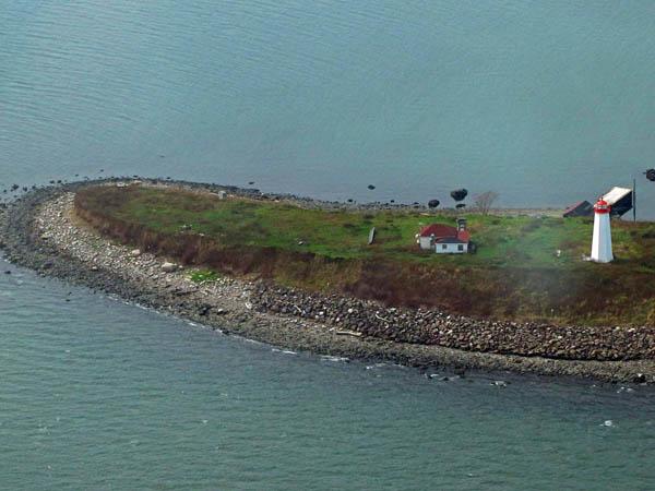 USCG Faulkners Island Aerial 7