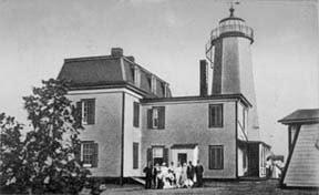 Faulkner Island Light c. 1900