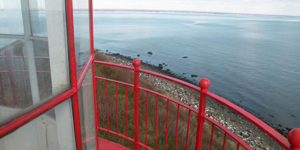 The view from the top Faulkner's Lighthouse