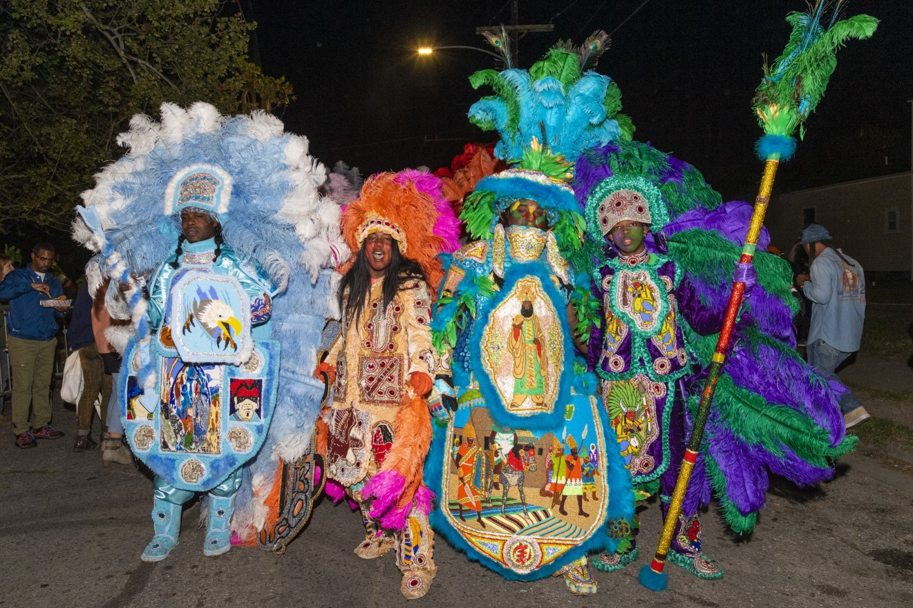 New Exhibit Showcases African-American Masking And Spirituality in Mardi Gras