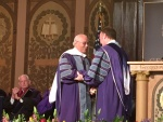 Dr Francis receives honorary Doctor of Laws from Georgetown University.jpg