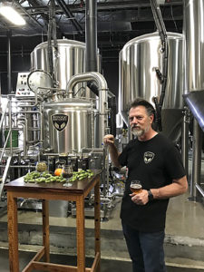 Toasting Food Wine Travel at Refuge Brewery