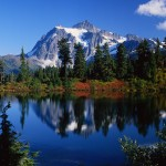 Mountains and lakes are perfect for peace gatherings