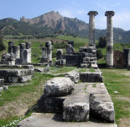 Sardis - seven churches tour