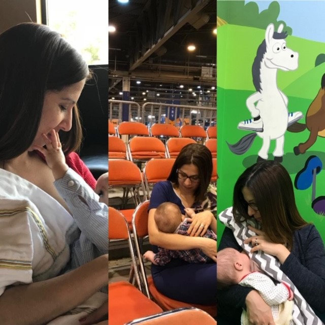 Pictures of mother breastfeeding