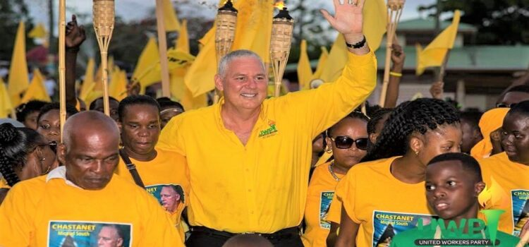 United Workers Party unanimously endorses Allen Chastanet