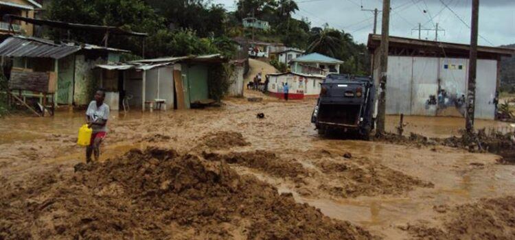 Flood-resilience works in Castries South East
