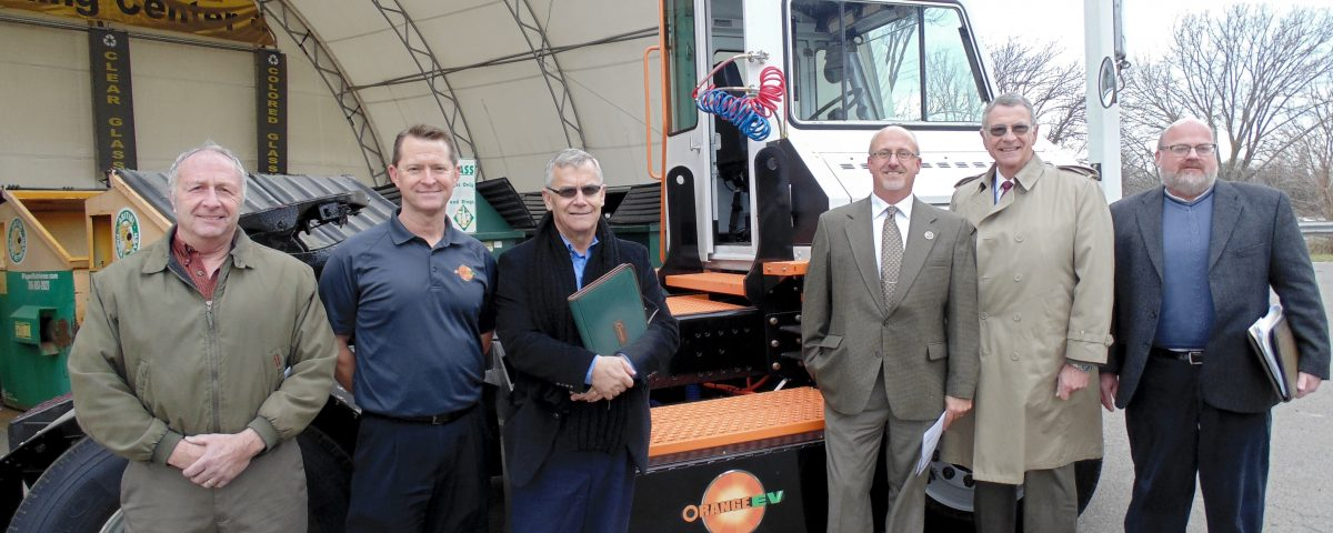 Chautauqua County New York Deploys Orange EV Electric Yard Truck