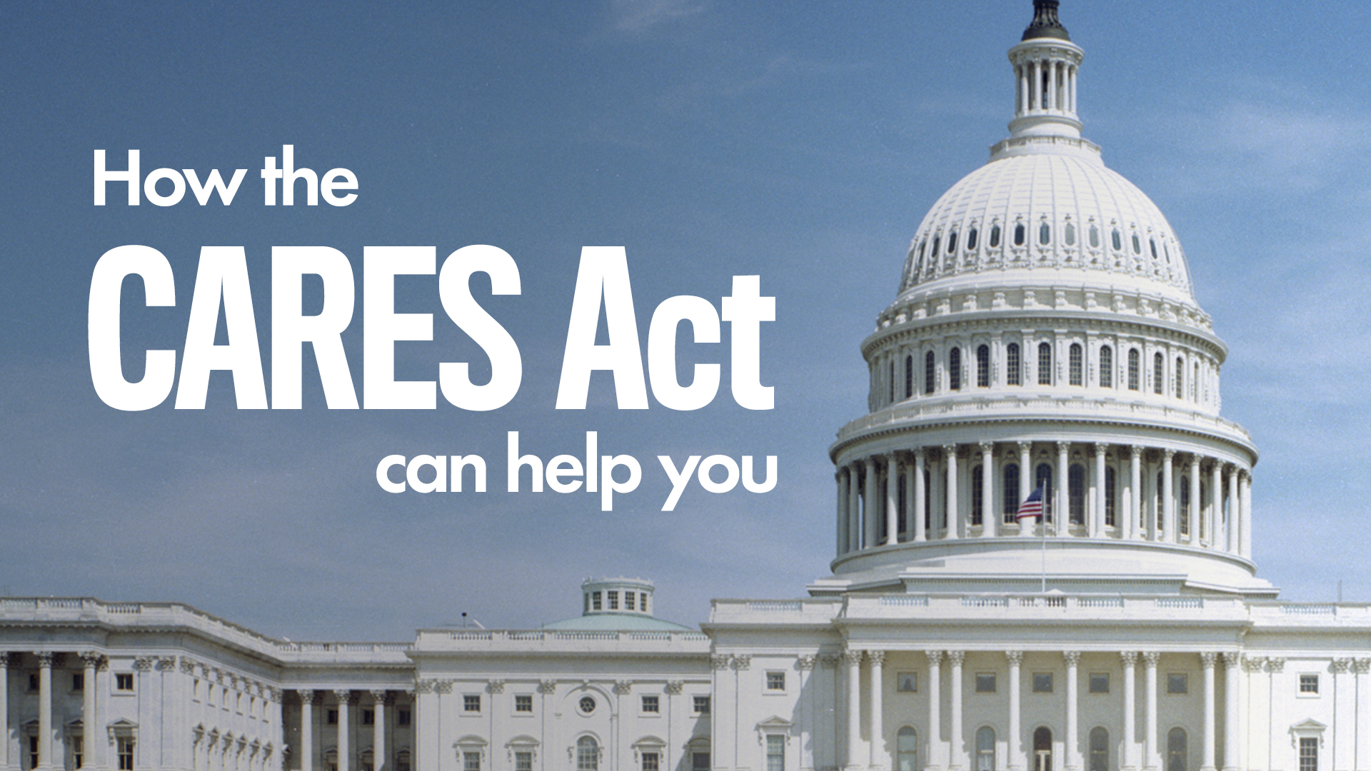 Tax Relief provided by CARES Act