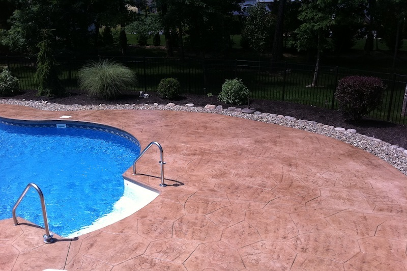 stamped concrete patio nj