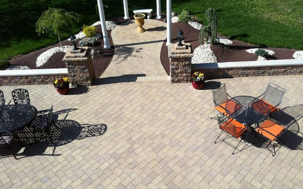 Brick Paver Patio in 07726