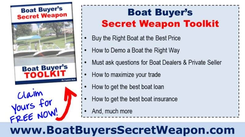 Boat Buyers Secret Weapon Boats for Sale