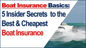 How to Get Cheap Boat Insurance for Your Boat Video