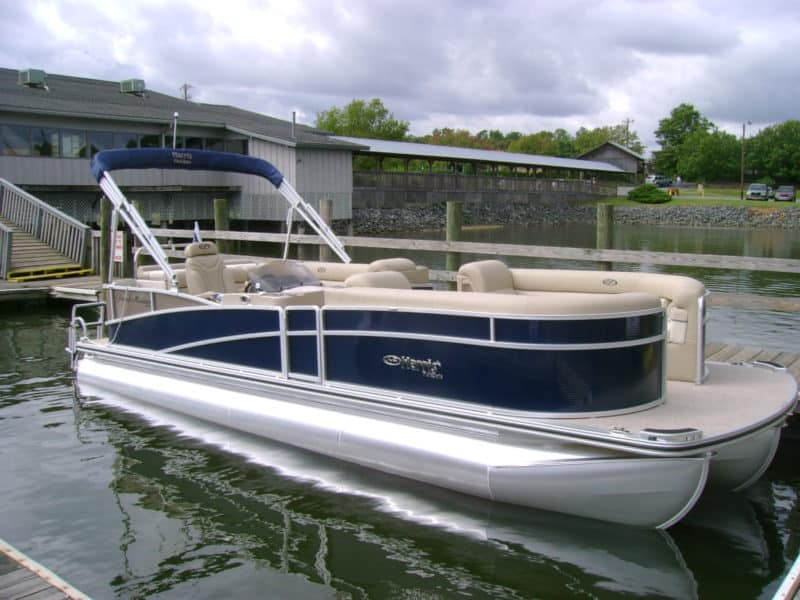 Used pontoon for sale a used boat dealer