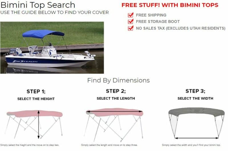 How to Select the Right Bimini Top for Your Boat or Pontoon