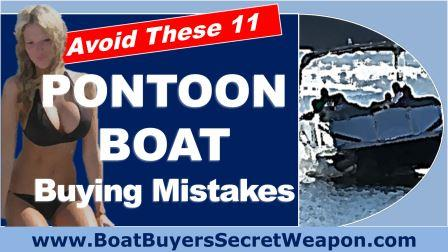 Avoid Pontoon for Sale Buying mistakes