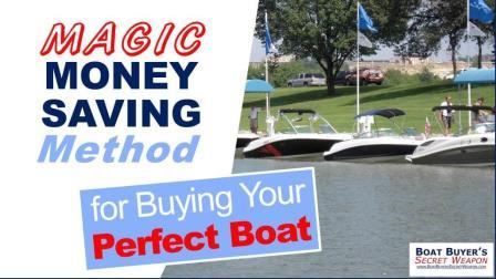 How to buy a boat for sale Magic Money Saving Method