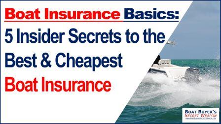How to get cheap Boat Insurance
