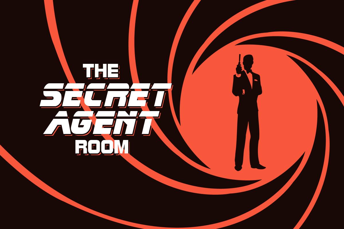 Secret Agent Escape Room