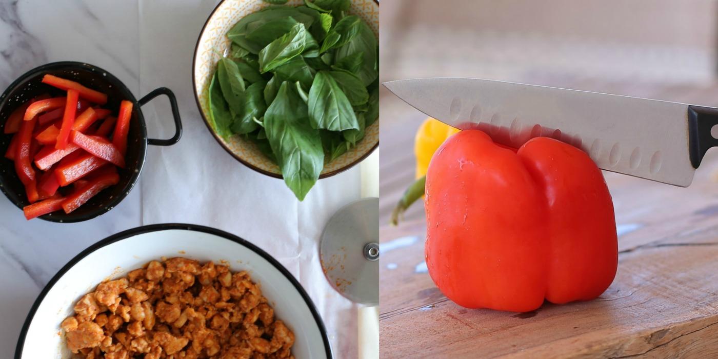 חיתוך פלפל_עוף בקארי עם גמבה_טיפים פרקטיים במטבח_צילום ותוכן: טליה הדר_אשת סטייל