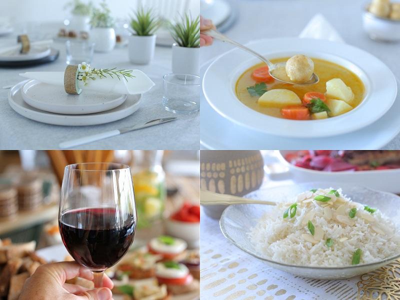 תכנון אירוח ומתכונים לפסח_טליה הדר מהבלוג אשת סטייל