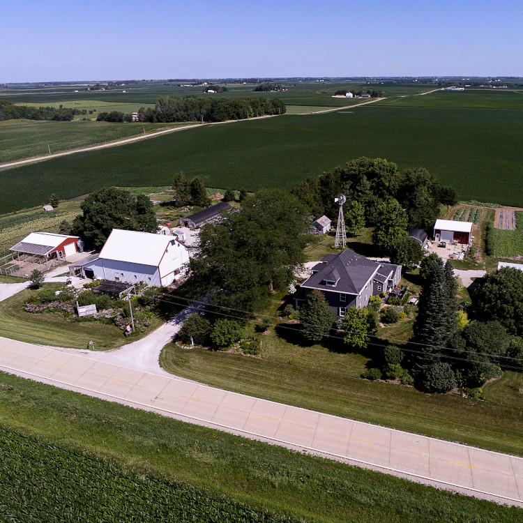 Red Granite Farm aerial
