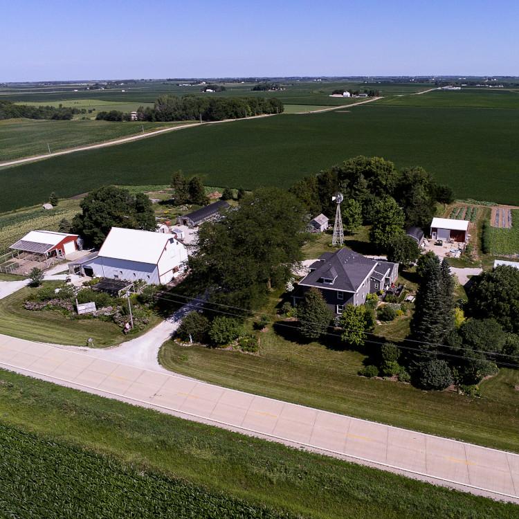 Red Granite Farm aerial