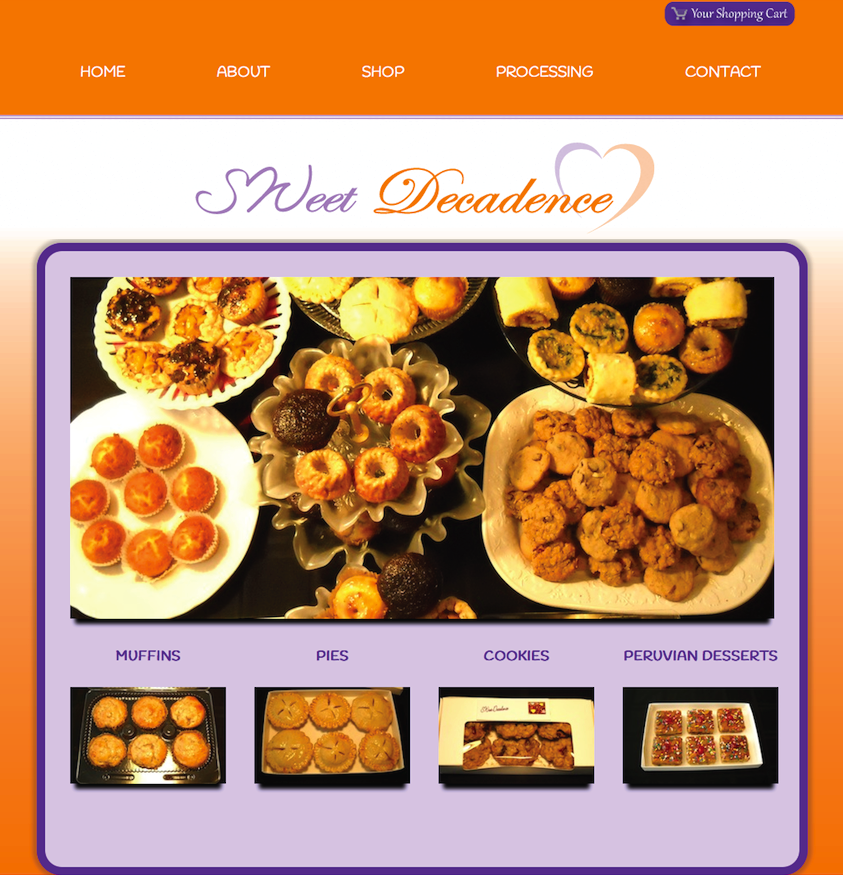 Bakery Website + eCommerce
