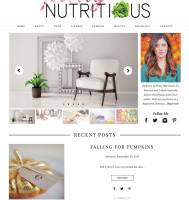 Hoboken Blog Design for Dietician