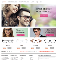 Wordpress Website with Shopping Cart