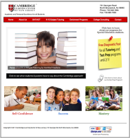 Learning Center Website Design in NJ