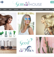 Salon Website Design in Brooklyn NY