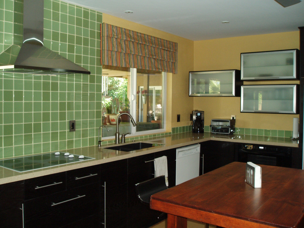 Green Glass Tile