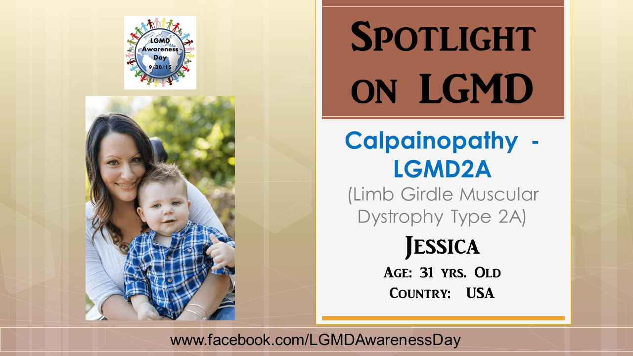 INDIVIDUAL WITH LGMD:  Jessica