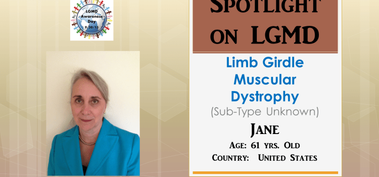 INDIVIDUAL WITH LGMD:  Jane