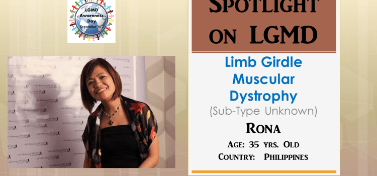 INDIVIDUAL WITH LGMD:  Rona