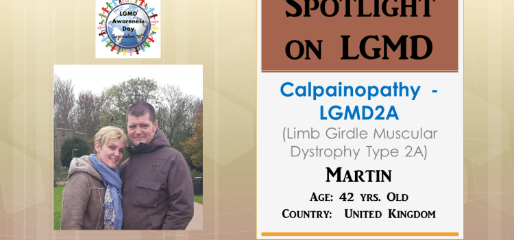 INDIVIDUAL WITH LGMD:  Martin