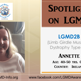 INDIVIDUAL WITH LGMD:  Annette