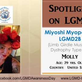 INDIVIDUAL WITH LGMD:  Molly