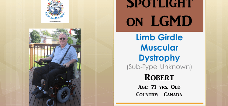 INDIVIDUAL WITH LGMD:  Robert