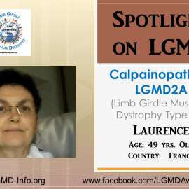 INDIVIDUAL WITH LGMD:  Laurence
