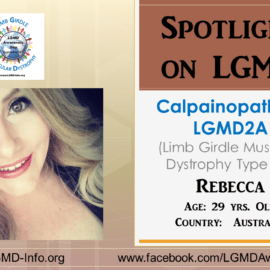 INDIVIDUAL WITH LGMD:  Rebecca