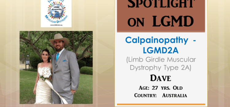 INDIVIDUAL WITH LGMD:  Dave