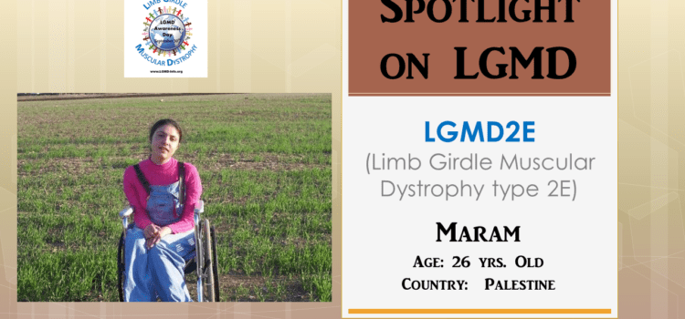 INDIVIDUAL WITH LGMD:  Maram