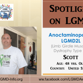 INDIVIDUAL WITH LGMD:  Scott