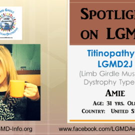 INDIVIDUAL WITH LGMD:  Amie
