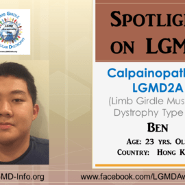 INDIVIDUAL WITH LGMD:  Ben