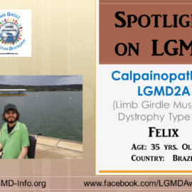 INDIVIDUAL WITH LGMD:  Felix