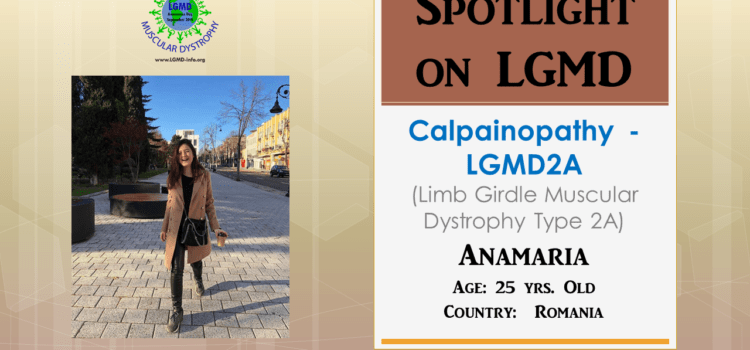 INDIVIDUAL WITH LGMD:  Anamaria